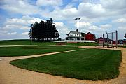 Baseball Field Prints - If you build it they will come Print by Susanne Van Hulst