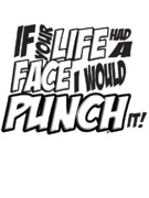 Apparel Prints - IF your life had a face - Scott pilgrim vs The World Print by Paul Telling