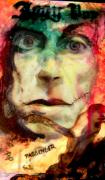 Passenger Mixed Media Prints - Iggy Pop Print by Elliott Danger James