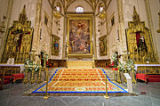 Carpet Photo Posters - Iglesia de San Jeronimo El Real Interior Poster by Artur Bogacki