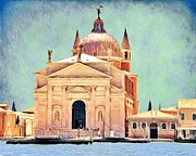 Chapels Prints - Il Redentore Print by Jeff Kolker