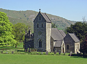 Hills Prints - Ilam Church Print by Rod Johnson