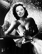 Opera Gloves Photo Metal Prints - Ill Cry Tomorrow, Susan Hayward, 1955 Metal Print by Everett