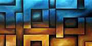 Fine Photography Art Painting Posters - Illusion of Depth 8 Poster by Uma Devi