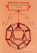 Dodecahedron Prints - Illustration Of A Dodecahedron Print by Science Source