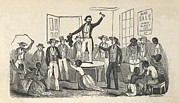 Slavery Framed Prints - Illustration Of Fugitive Slave Henry Framed Print by Everett
