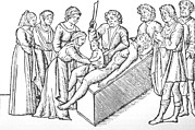 Woodcuts Photos - Illustration Of The Birth Of Julius by Everett