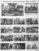 Slavery Photo Framed Prints - Illustrations Of The Antislavery Framed Print by Everett