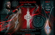 Mexico Jewelry - Ilmas Celtic Cross by Galeria Rossmore