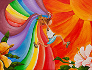 Trippy Paintings - Im a Rainbow Too by Jason Honeycutt