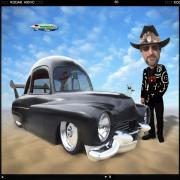 Hot Rod Digital Art - Im Back . . . by Mike McGlothlen