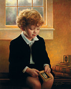 Boy Painting Prints - Im Trying To Be Like Jesus Print by Greg Olsen