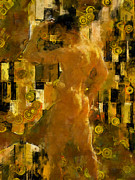Klimt Digital Art Prints - Im Waiting For You    Male Print by Kurt Van Wagner