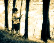 Childhood Photos - Imagination and Adventure by Bob Orsillo