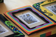 Picture Frame Framed Prints - Imagination Art Shop Framed Print by Mandy Shupp