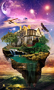 Kenal Louis Art - Imagination Home by Kenal Louis