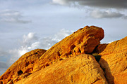 Rock Formations Prints - Imagination runs wild - Valley of Fire Nevada Print by Christine Till