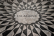 Dedication Prints - Imagine Print by Benjamin Matthijs