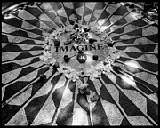 John Lennon Photographs Prints - Imagine Print by Christina Czybik