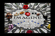 Ono Prints - Imagine Print by Gwyn Newcombe