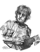 John Lennon Art Drawings - Imagine by Kelvin Winters