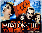 Claudette Posters - Imitation Of Life, Claudette Colbert Poster by Everett