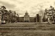 University School Prints - Immaculata University in Black and White Print by Bill Cannon