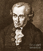 Philosophy Art - Immanuel Kant, German Philosopher by Science Source