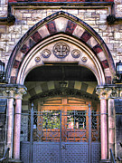 Entrance Door Framed Prints - Immanuel Presbyterian Church II Framed Print by Steven Ainsworth