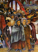 Mural Photos - Immigrants, Nyc, 1937-38 by Granger