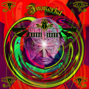 Third Eye Digital Art - Immortal by Rosalyn Stevenson