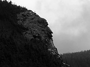 All - Imp Mountain Profile BW IV by Frank LaFerriere