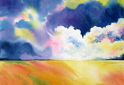 Storm Clouds Painting Originals - Impending Storm by Deborah Ronglien
