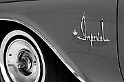 Fifties Automobile Photos - Imperial by Audrey Venute