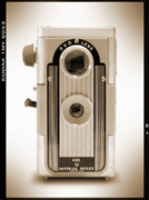 White Digital Art Posters - Imperial Reflex Camera Poster by Mike McGlothlen