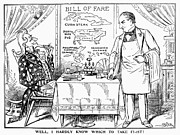 Waiter Photos - IMPERIALISM CARTOON, c1900 by Granger