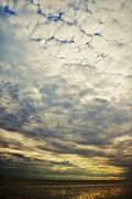 Clouds Photo Metal Prints - Impression clouds Metal Print by Angela Doelling AD DESIGN Photo and PhotoArt