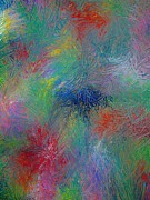 Brightly Paintings - Impressionistic Flurry by Beth Akerman