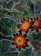 Lilly Pads Prints - Impressionistic Lilies Print by Gordon Beck