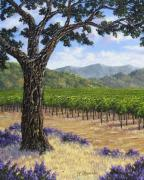 Napa Valley Vineyard Paintings - Impressions of Napa by Patrick ORourke