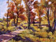 Pathway Paintings - Impressions of Southern France by David Lloyd Glover