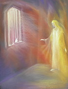 Window Pastels - Imprisoned Soul Seeking Spirit by Iris Sullivan