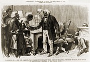 Anti Discrimination Prints - In 1877 Frederick Douglass 1818–1895 Print by Everett