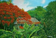 Del Rio Paintings - In a place of Vinales by Miguel Alfaro