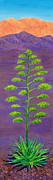 Mountains Painting Originals - In Agave Davida 2 by Randall Weidner