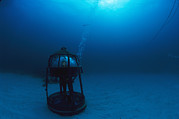 Water Vessels Art - In An Air-filled Rest Station, Greg by Brian J. Skerry
