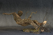 Fantasy Tree Art Prints - In An Instant a sculpture by Adam Long Print by Adam Long