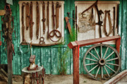 Farrier Prints - In Another Time Print by Sandra Bronstein
