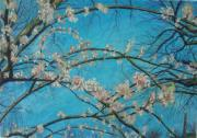 Branches Pastels Posters - In Bloom Poster by Jacob Stempky