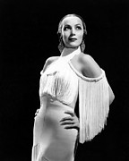 Del Rio Photo Prints - In Caliente, Dolores Del Rio, 1935 Print by Everett